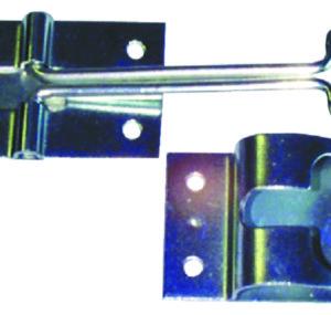 JR Products 10314 Plunger Door Holder Angled 4-3//4